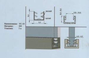 Уплотнитель 4-6,5 мм Черногорск