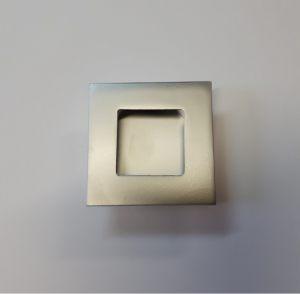 Ручка квадратная Серебро матовое Черногорск
