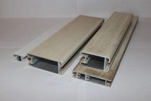 Профиль алюминиевый для шкафа купе, межкомнатных перегородок эмаль +патина Черногорск