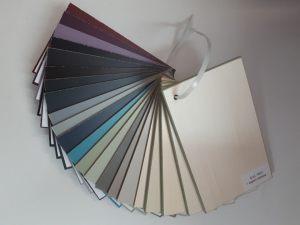 Образцы стандартных цветов. Эмаль Черногорск