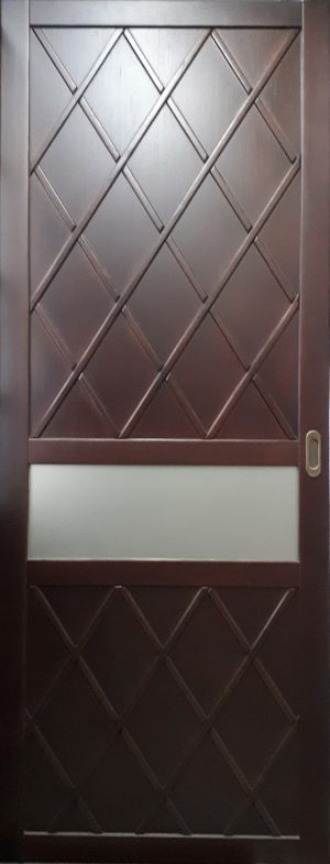 Вставка в дверь с фигурной филенкой Черногорск