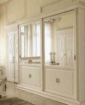 Шкаф купе с филенкой и декоративной накладкой эмаль Черногорск