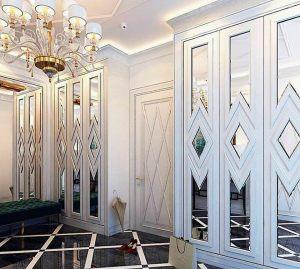 Двери с делителем наклейкой Черногорск