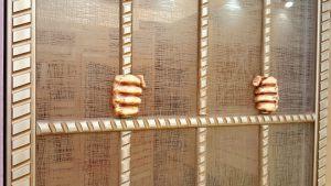 Алюминиевый профиль для шкафа купе эмаль с декоративной накладкой Черногорск