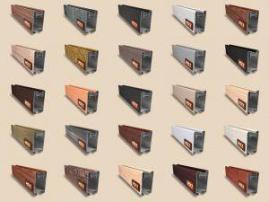 """Алюминиевый ламинированный профиль """"HOLZ"""" для шкафов купе и межкомнатных перегородок Более 100 цветов Черногорск"""