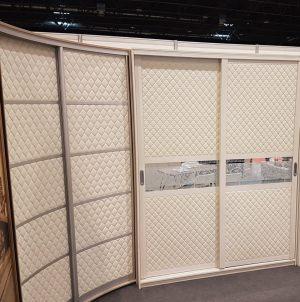 Вставки в двери с 3D эко кожей Черногорск